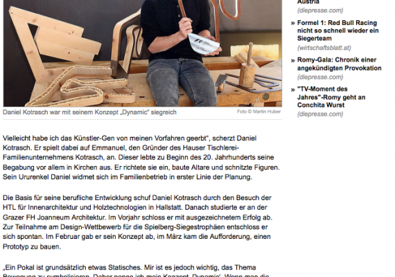 DI Daniel Kotrasch – Your architect and joiner in Schladming