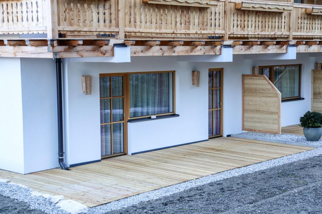 Lärchen Terrasse