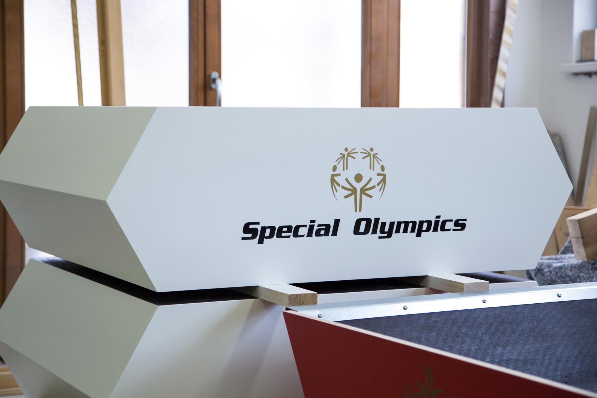 Special Olympics 2017 Siegerpodest by Tischlerei Kotrasch-1