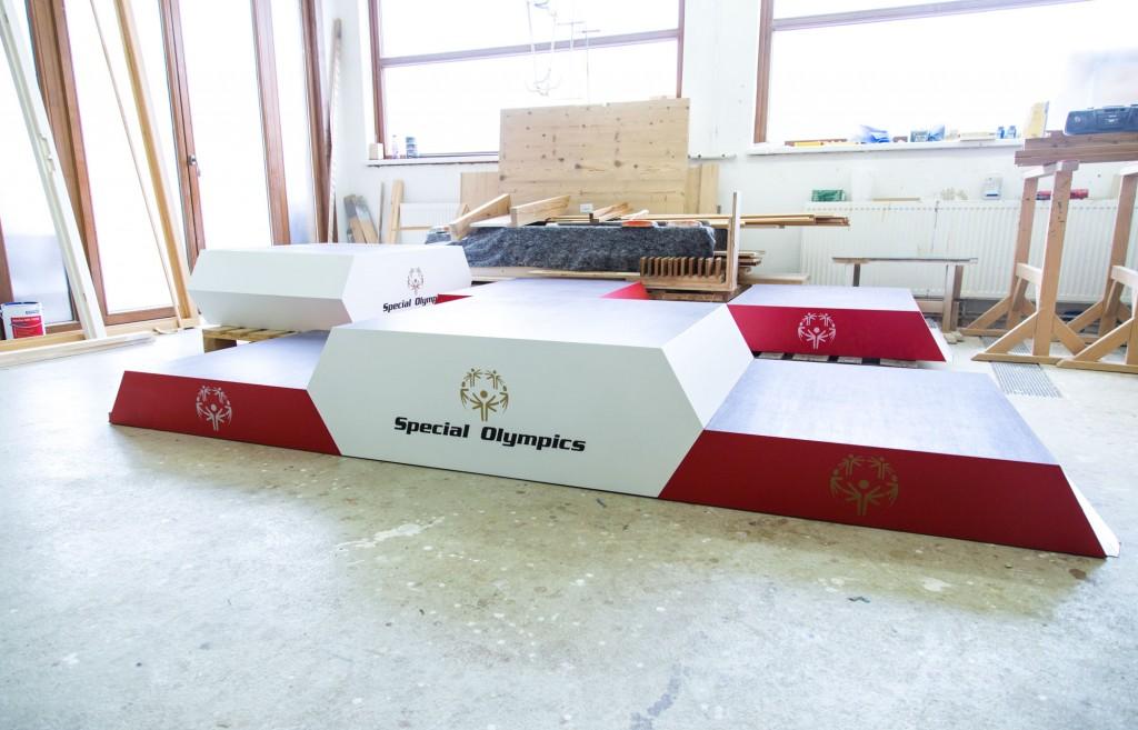 Special Olympics 2017 Siegerpodest by Tischlerei Kotrasch-5