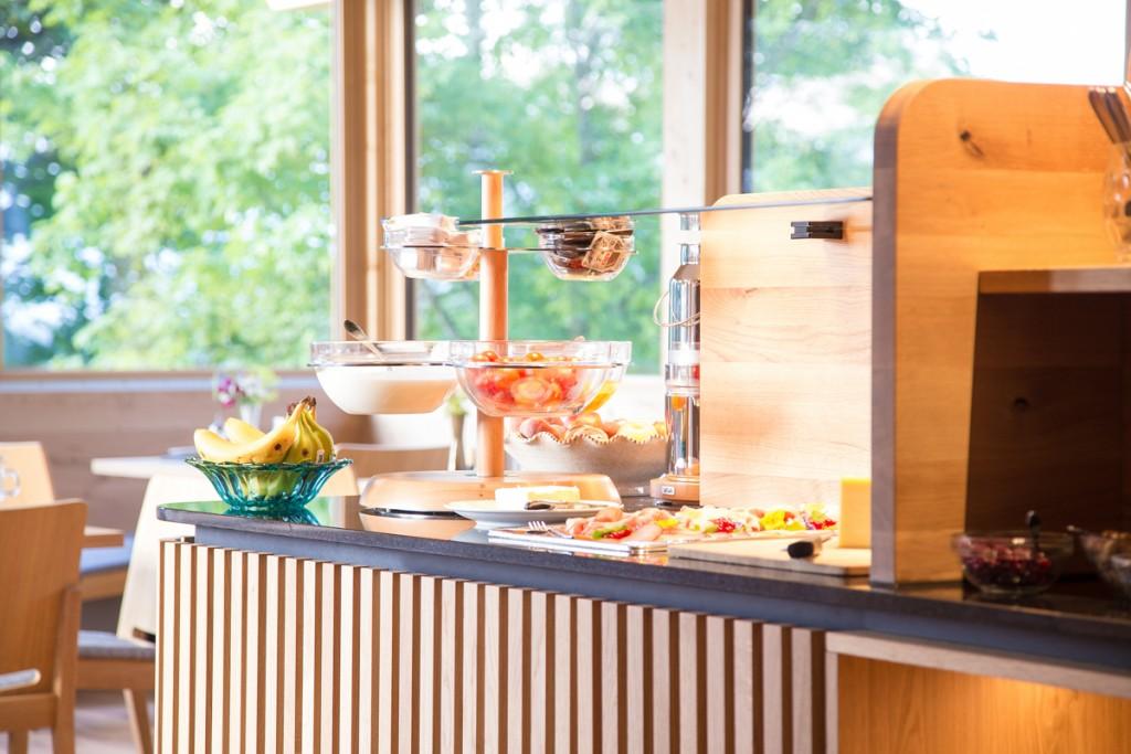 Alpenhof-Hotelbuffet-Frühstücksbuffet